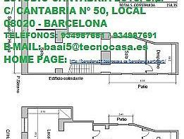 Local en venta en calle Huelva, Sant Martí en Barcelona - 368251417