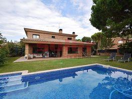 Fachada - Chalet en alquiler en calle Pirineus, Sant Cugat del Vallès - 348631849