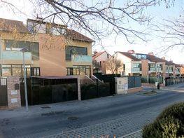 Fachada - Casa adosada en venta en calle Tilo, Quinto Centenario-Solagua-Campo de Tiro en Leganés - 379778047