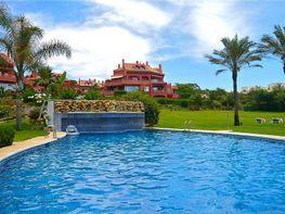 Piscina - Apartamento en alquiler de temporada en Elviria en Marbella - 263759818