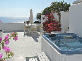 Vistas desde la terraza - Apartamento en alquiler de temporada en Nagüeles Alto en Marbella - 259048976
