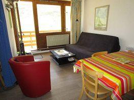 Sala de estar - Apartamento en alquiler de temporada en La Mongie - 310309970
