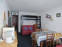 Sala de estar - Estudio en alquiler de temporada en La Mongie - 261115696