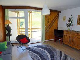 Sala de estar - Apartamento en alquiler de temporada en La Mongie - 347625050