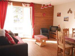 Sala de estar - Apartamento en alquiler de temporada en Font-Romeu-Odeillo-Via - 259053329