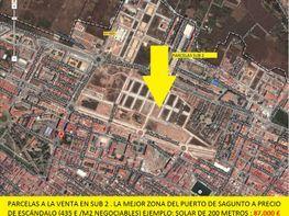 Grundstück in verkauf in calle Alcala Galiano, Puerto de Sagunto - 123594623