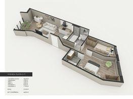 Plano - Piso en venta en calle Generalitat, Pallejà - 337980950