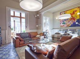 Salón - Apartamento en alquiler de temporada en rambla Catalunya, Eixample dreta en Barcelona - 84382194