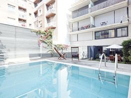 Piscina - Dúplex en alquiler de temporada en calle Prats de Mollo, Sant Gervasi – Galvany en Barcelona - 84382533