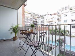 Balcón - Piso en alquiler de temporada en calle Prats de Mollo, Sant Gervasi – Galvany en Barcelona - 84511019