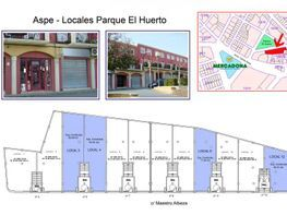Plano - Local comercial en alquiler en calle Maestro Albeza, Aspe - 116581462