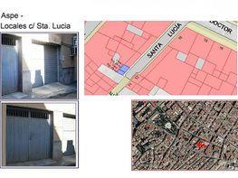 Plano - Local comercial en alquiler en calle Santa Lucia, Aspe - 130077841