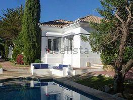 Piscina - Chalet en alquiler en urbanización Cascada de Camoján, Sierra Blanca en Marbella - 393075554