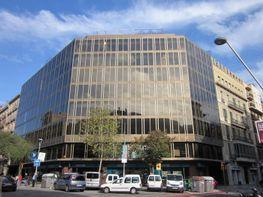 Fachada - Oficina en alquiler en Eixample dreta en Barcelona - 121057897