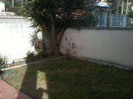 Jardín - Casa adosada en venta en calle Valencia, Les palmeres en Canyelles - 126570705
