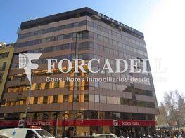 Fachada edificio - Oficina en alquiler en calle Gràcia, Eixample dreta en Barcelona - 354395610