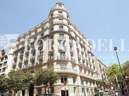 Façana - Oficina en alquiler en calle Muntaner, Sarrià en Barcelona - 354397383