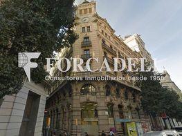 Fontanella_12_façana - Oficina en alquiler en calle Fontanella, El Gótic en Barcelona - 399742087
