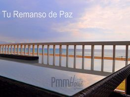 Terraza - Piso en venta en Playa en Castelldefels - 214790686