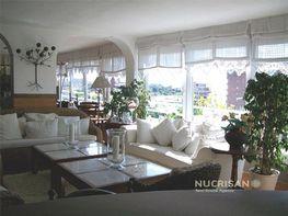 Salón con bonitas vistas - Piso en alquiler en Albufereta en Alicante/Alacant - 251087575