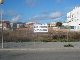 Fachada parcela - Terreno en venta en calle Josep Cañas, Llorenç del Penedès - 178571216