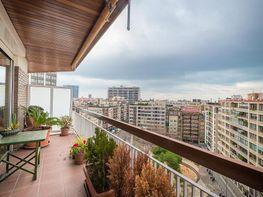 Terraza - Piso en venta en calle Avda Sarria Pça Dr Ignaci Barraquer, Les corts en Barcelona - 387012088