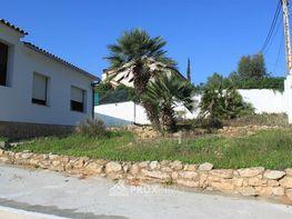 Jardin parte delantera - Chalet en venta en Olivella - 347481677