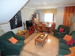 Salón - Casa adosada en venta en calle Lirio, Travesía de Vigo-San Xoán en Vigo - 283635378