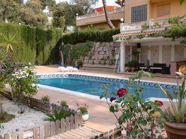 Jardín - Chalet en venta en calle Morera, Sant Cebrià de Vallalta - 282417980