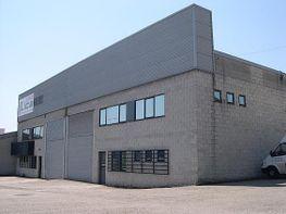 Aspecto exterior frontal de la nave. - Nave industrial en venta en polígono La Vega, Centro en Gijón - 340154630