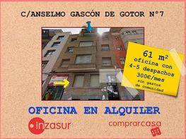 Foto - Oficina en alquiler en calle Universidad, Universidad en Zaragoza - 335113047