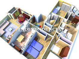 Plano - Ático en venta en vía Hispanidade, Praza Independencia en Vigo - 328078157