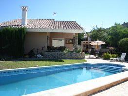Patio trasero - Chalet en venta en calle , Algar de Palancia - 89962385