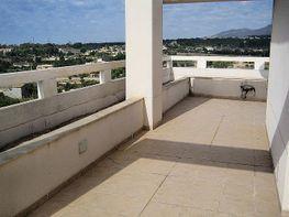 Terraza - Ático en venta en calle Riu Xuquer, Alfaz del pi / Alfàs del Pi - 260925765