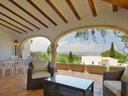 Terraza - Chalet en venta en calle Algarrobo, Jávea/Xàbia - 43736230