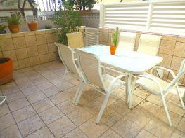 Terraza - Casa adosada en venta en Playa en Castelldefels - 124486008