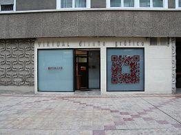 Fachada - Local comercial en alquiler en urbanización Romaparque, Ciudad jardín – Parque Roma en Zaragoza - 398652062