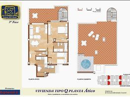 Ático en venta en calle Ánade, Urb. Roquetas de Mar en Roquetas de Mar - 207663367