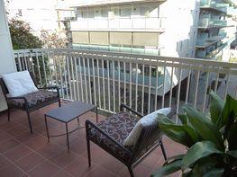 Balcón - Piso en alquiler en calle Calàbria, Eixample esquerra en Barcelona - 416330546