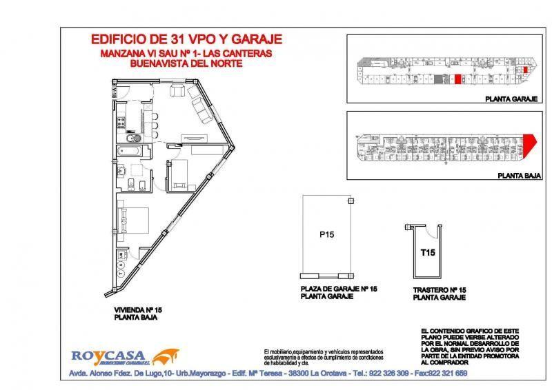 Piso en alquiler opción compra en urbanización Las Canteras, Buenavista del Norte - 87350792