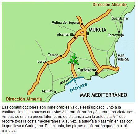 Piso en alquiler en Alhama de Murcia - 227935679