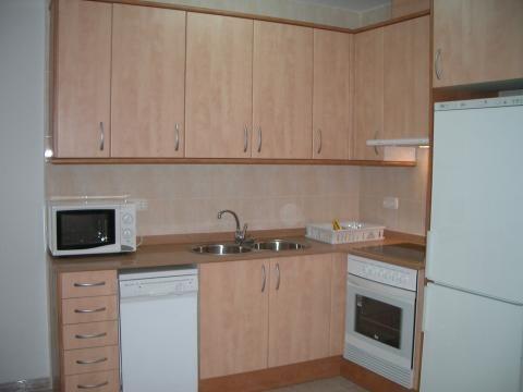 Cocina - Apartamento en venta en calle St Sebastia, Ampolla, l´ - 25030656
