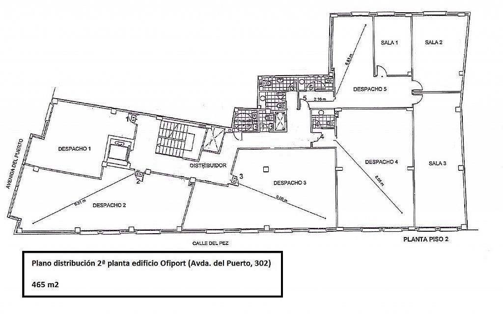 Oficina en alquiler en calle Del Puerto, El Grau en Valencia - 267616096