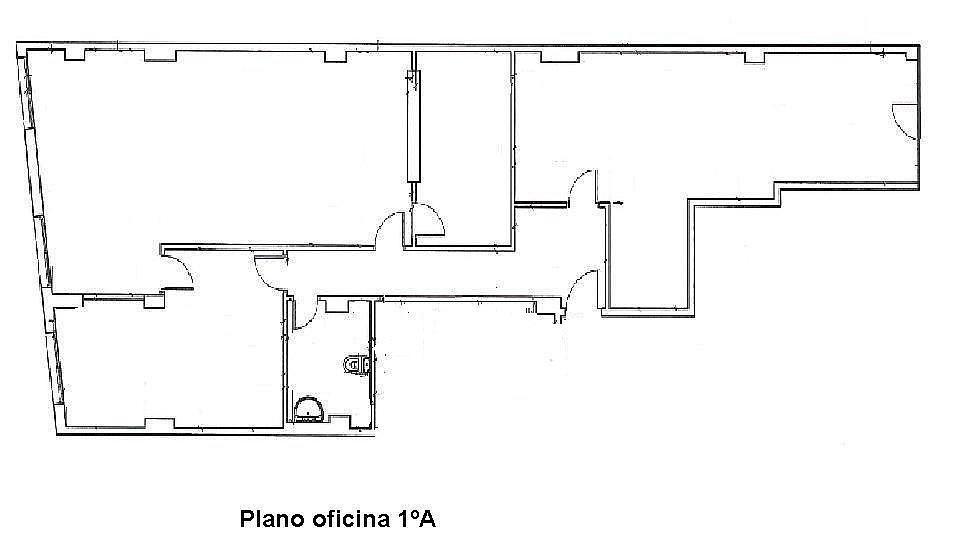 Oficina en alquiler en calle Alzira, Centro en Gandia - 185078475