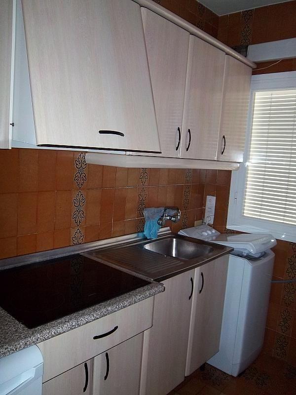 Cocina - Piso en alquiler en calle Constitución, Centro en Granada - 186282844