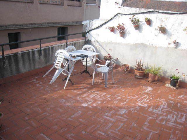 Terraza - Piso a compartir en calle Correu Vell, El Gótic en Barcelona - 120239910