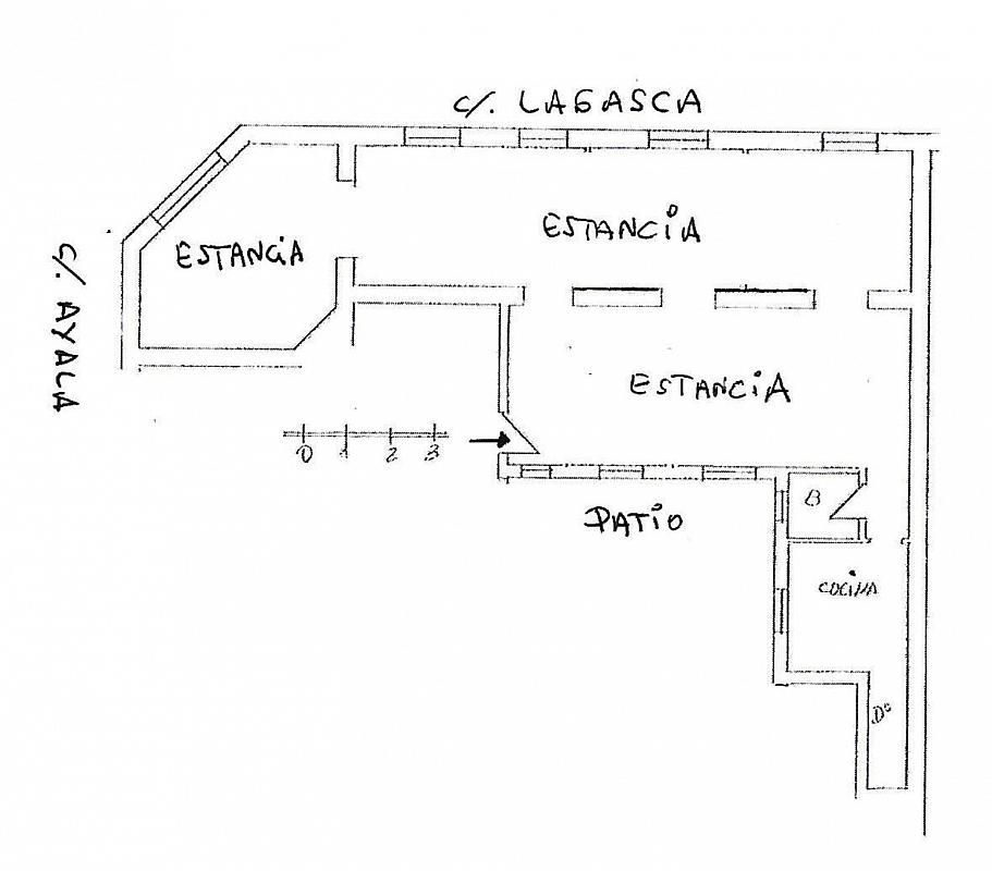 Local comercial en alquiler en calle De Ayala, Recoletos en Madrid - 361475722