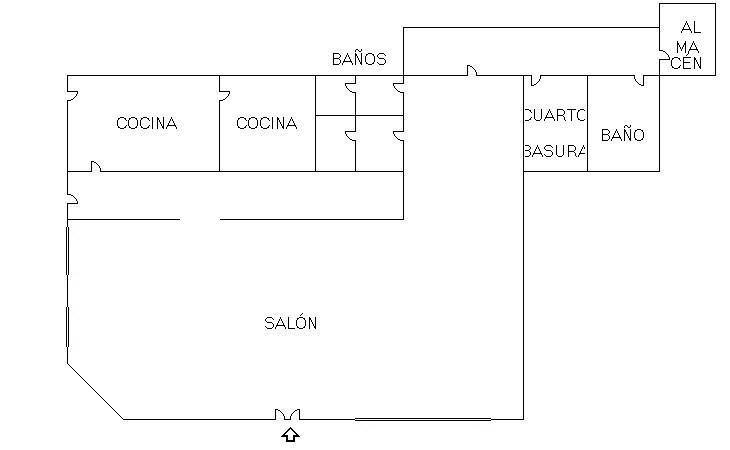 Plano - Local comercial en alquiler en La Avanzada-La Cueva en Fuenlabrada - 198385578