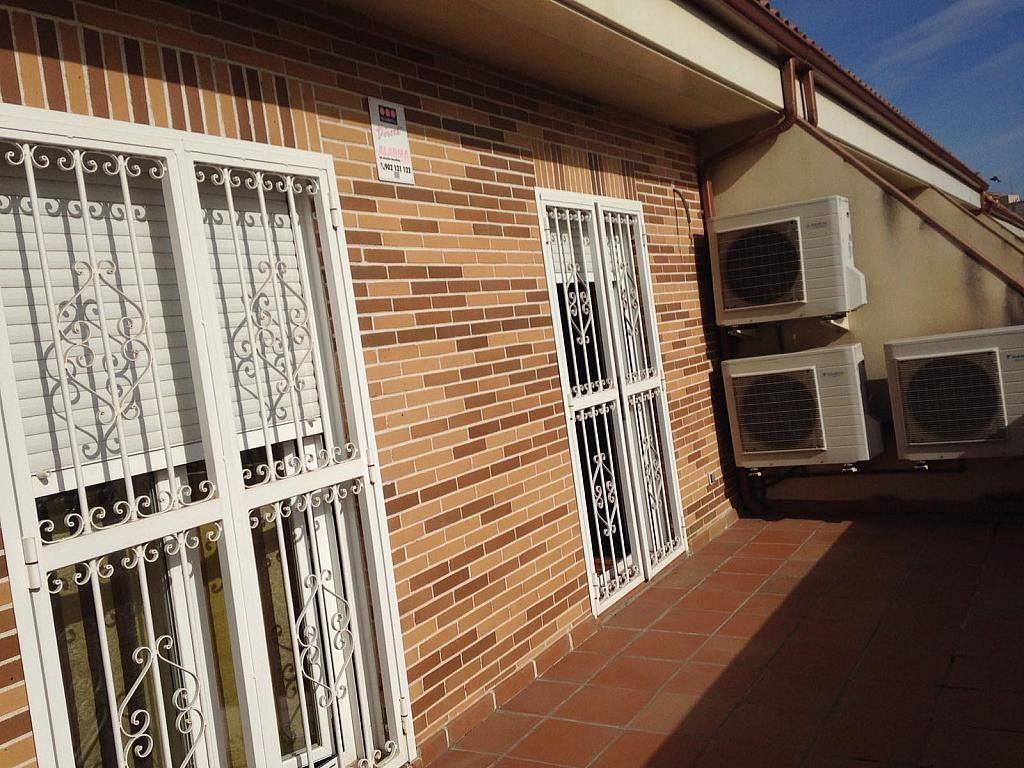 Fachada - Chalet en alquiler opción compra en calle Maria Montessori, Centro en Fuenlabrada - 255627248