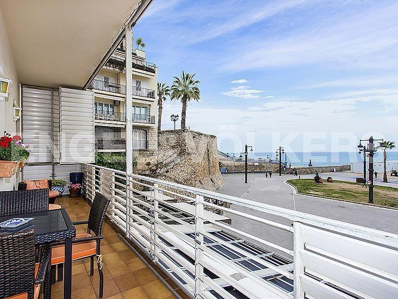 Terraza - Apartamento en venta en Centre poble en Sitges - 281463787